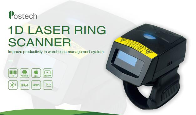 Ring Bluetooth Barcode Scanner
